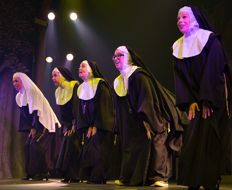 nuns in a line Rena Colette Photography RESIZE